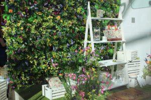 laura ashley Wild Meadow window display westfield london visual merchandising bespoke prop manufacturer