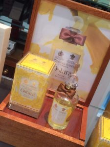 Penhaligons perfume pos unit London instore display retail design
