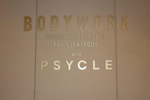 Selfridges Psycle instore display install London bespoke furniture prop making bespoke prop manufacturer