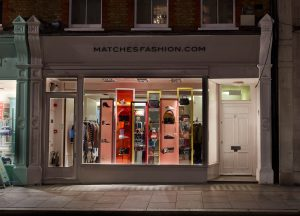 Matches LFW aw17 fashion window display visual merchandising bespoke prop manufacture retail design