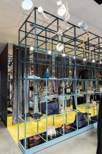 Ted Baker Houston USA in store display sculpture bespoke prop making retail design