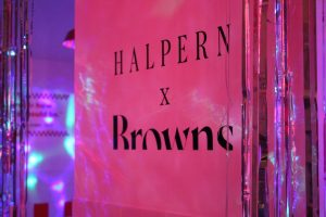 browns fashion halpern LFW after party event bespoke prop manufacture design prop manufacturing company