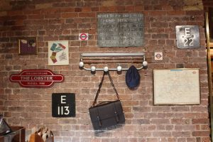 Ted Baker London Bridge Prop manufacturing window display