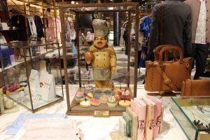 Ted Baker London Bridge Prop manufacturing window display