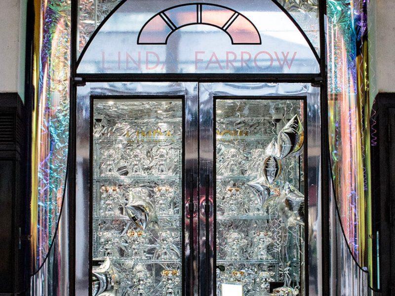 Linda Farrow - Max The Bear, Covent Garden, Christmas visual merchandising, display popup
