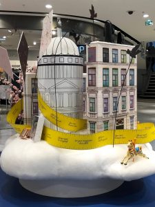 Ted Baker - Le BHV Marais, Paris - Mary Poppins pop up
