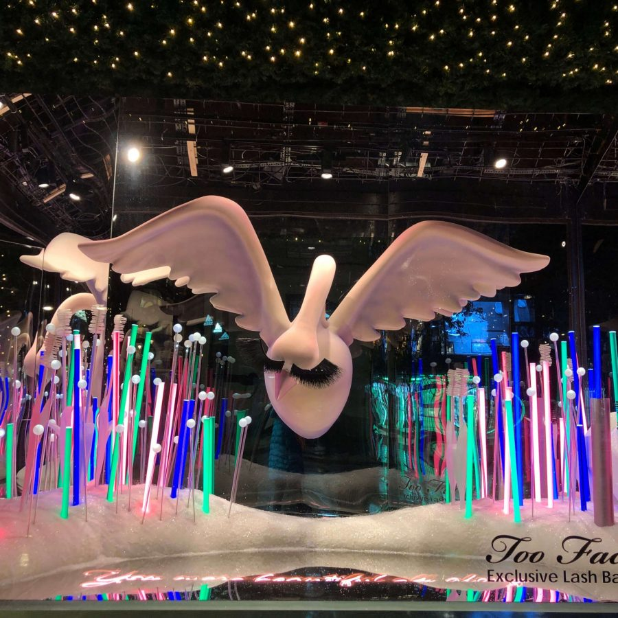 Too Faced+Selfridges+Window Display+Bespoke+Sculpting+VM+Visual Merchandising (1)